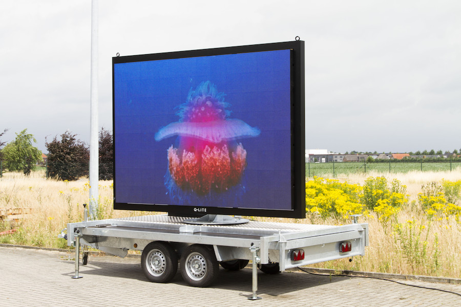 Mobile led-display