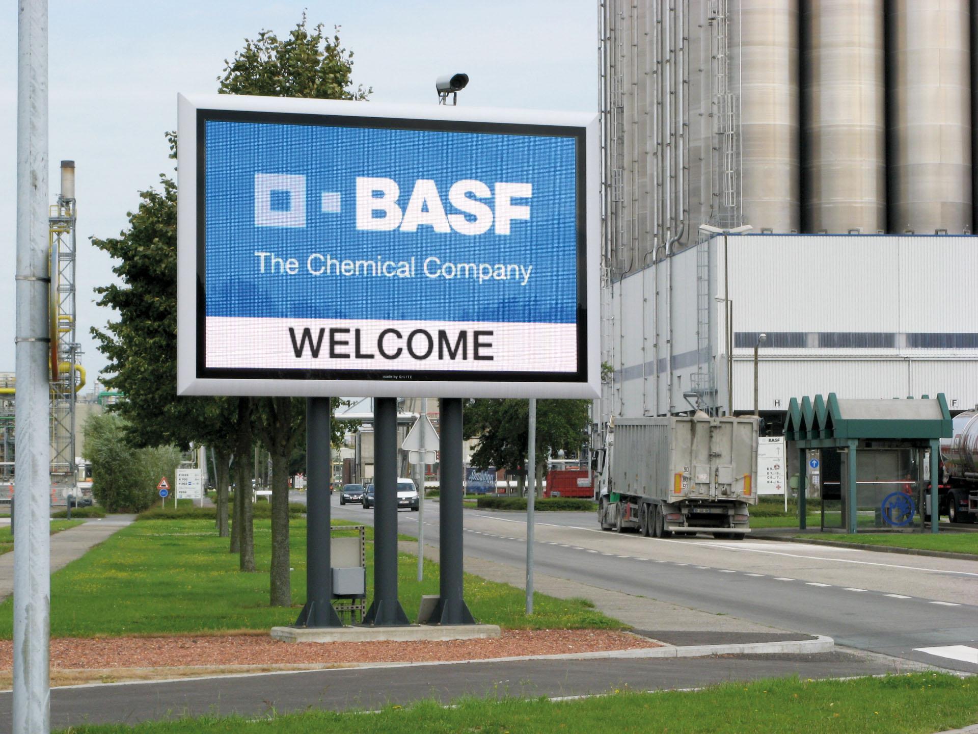 BASF veiligheidsdisplay