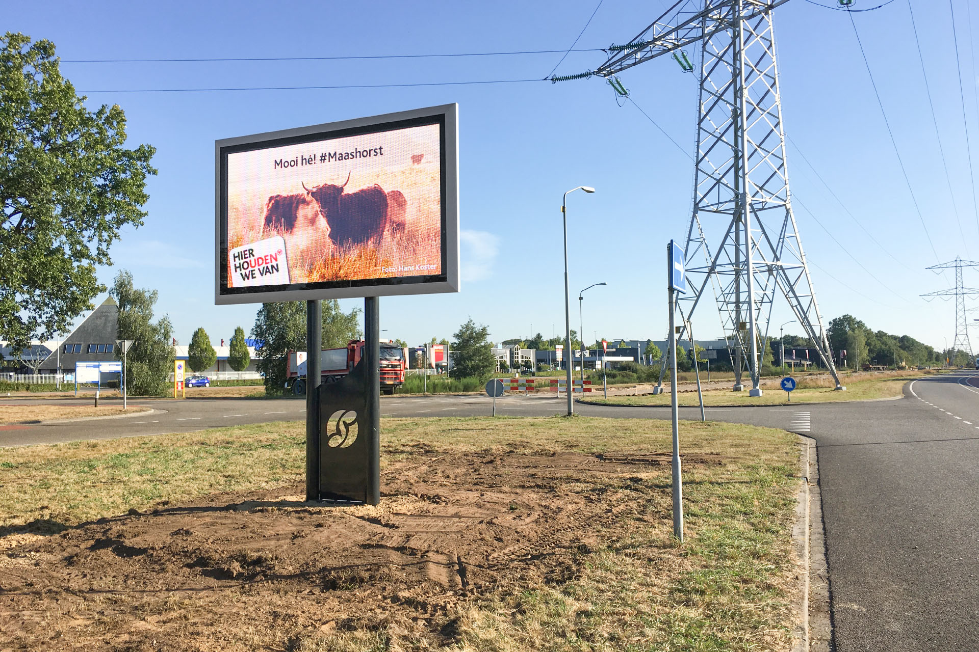Q-LED TV Gemeente Uden