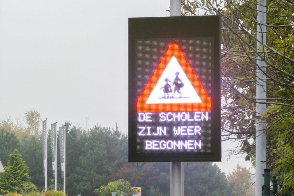 Verkeersbord veiligheid