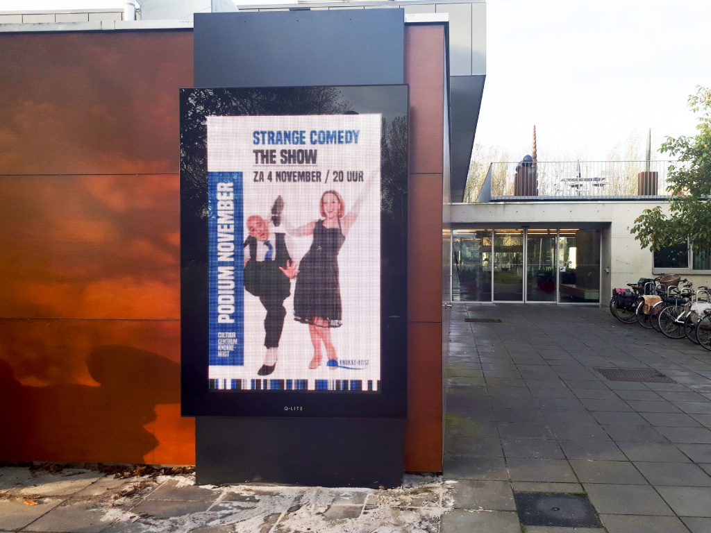CC Scharpoord Knokke Q-LED TV