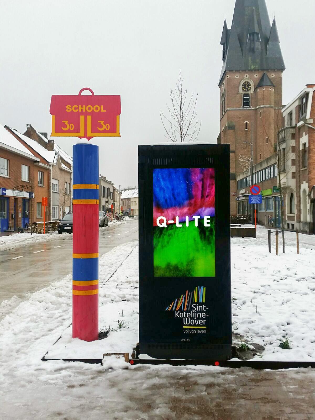 Sint-Katelijne-Waver, Outdoor LCD scherm