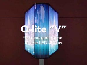 Q-lite V - next generation facade display