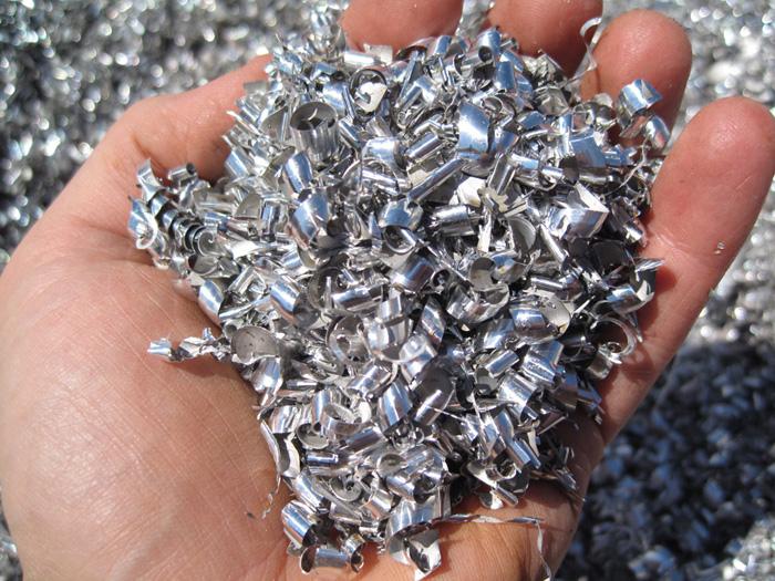 80% gerecycleerd aluminium