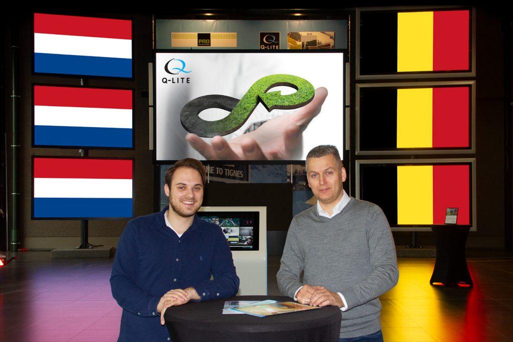 Het circulaire LED-display, een Belgische of Nederlandse innovatie?