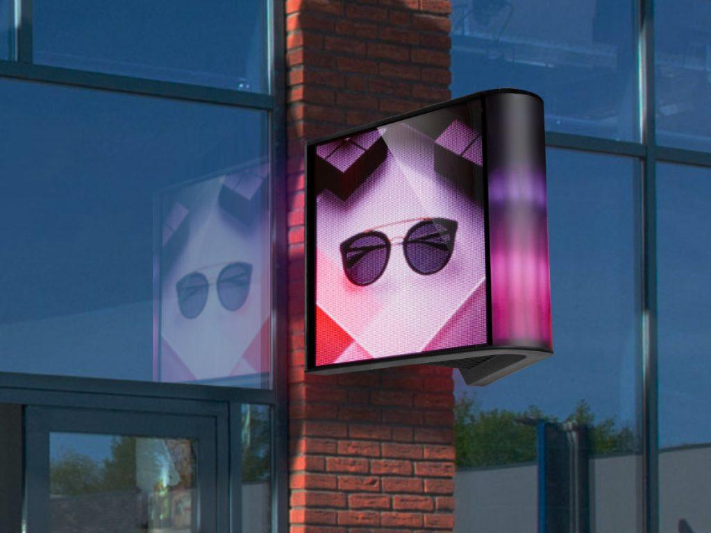 LED-scherm LED-display, Outdoor LED