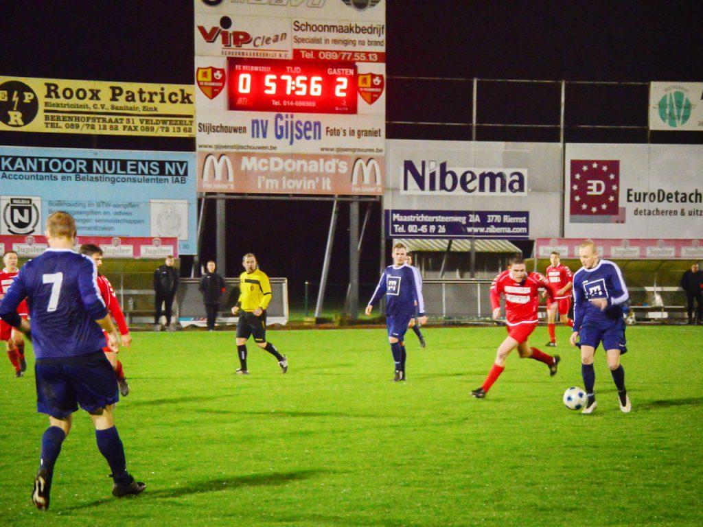 LED-scorebord FC Veldwezelt
