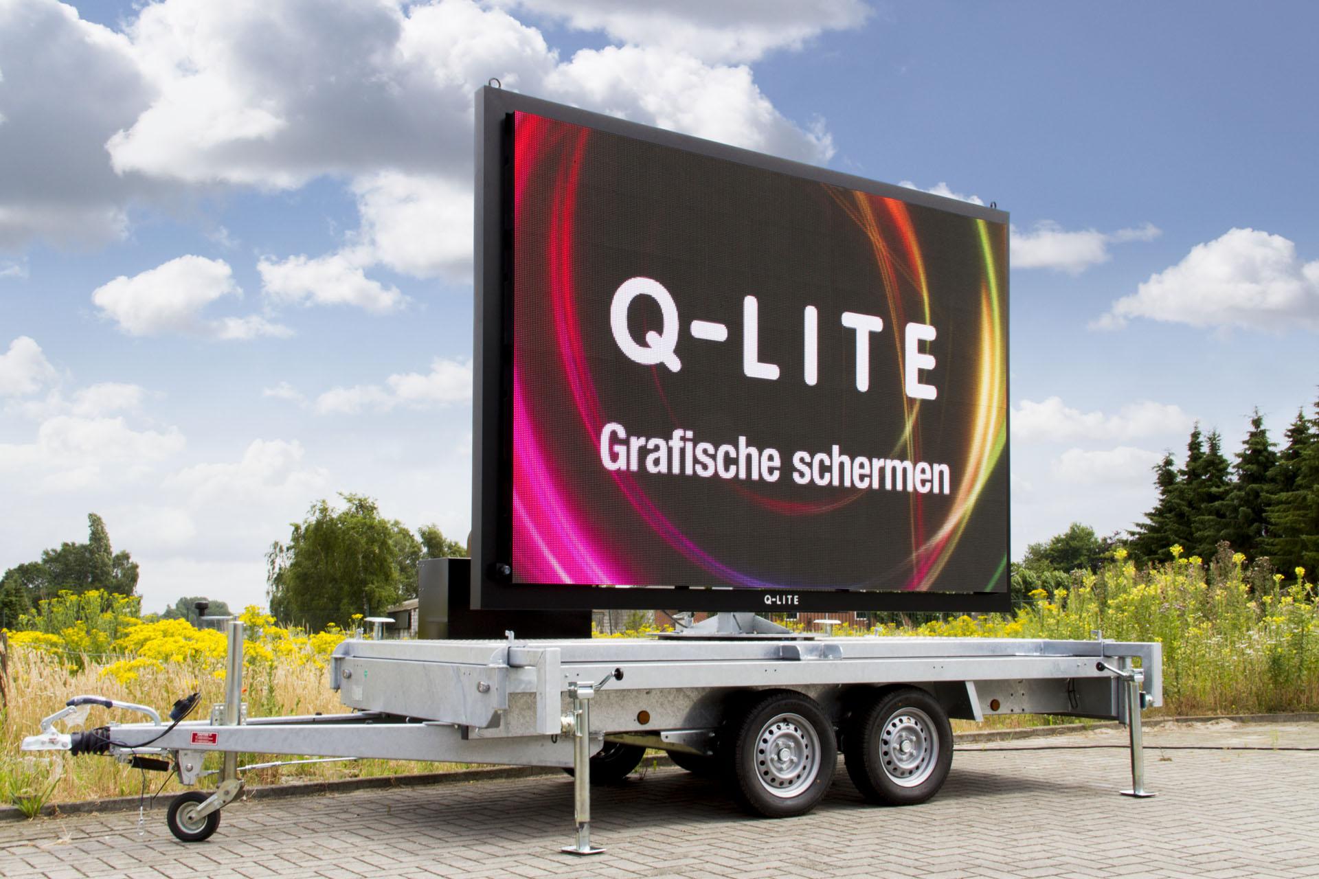 Mobiel LED-scherm LED-scherm Outdoor LED LED-display LED-trailer