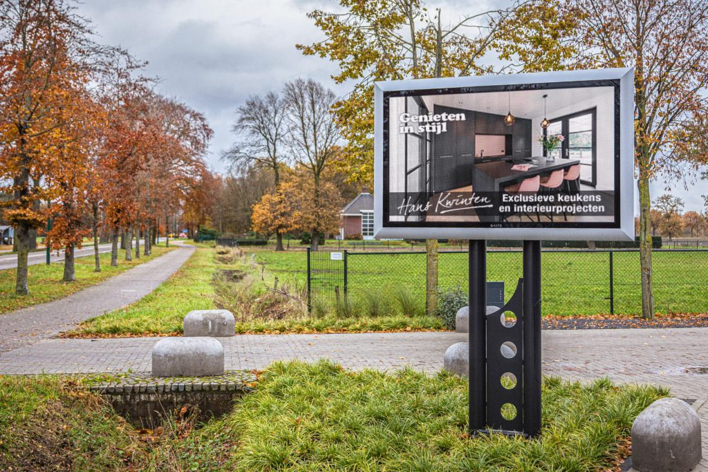 Grafisch LED-scherm Hans Kwinten Interieurprojecten