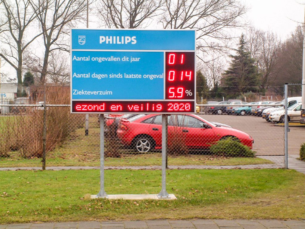 Veiligheidsdisplay Philips