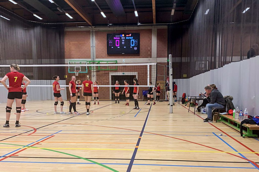 LED-scorebord volleybal Hoogstraten