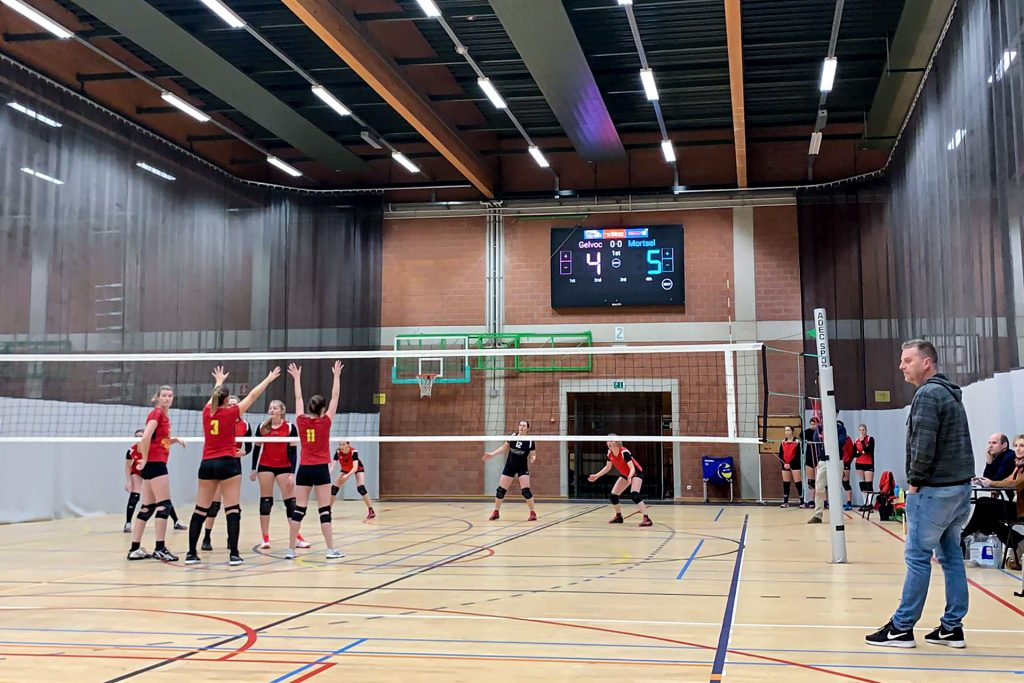 LED-scorebord volleybal Hoogstraten