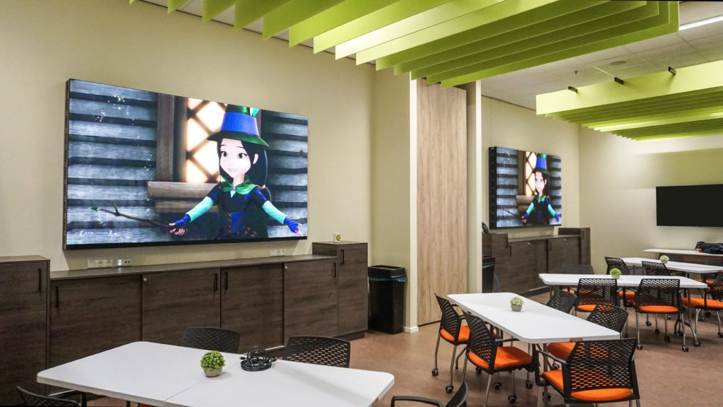 Indoor LED-display entertainment