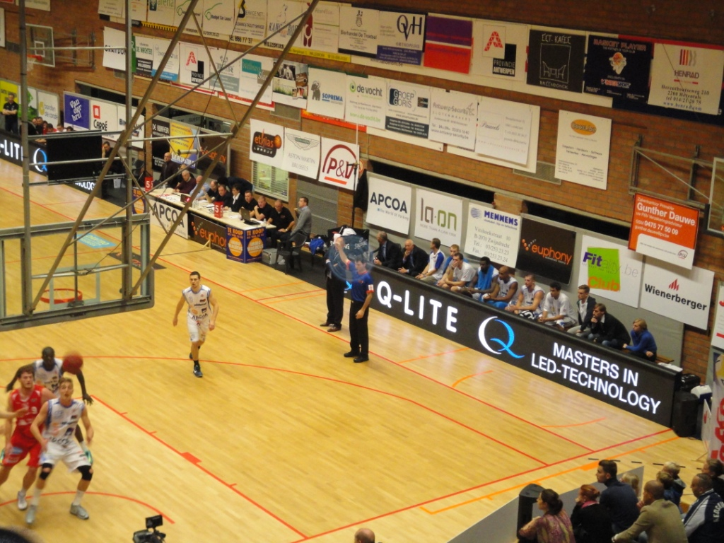 LED-boarding Kangoeroes Willebroek
