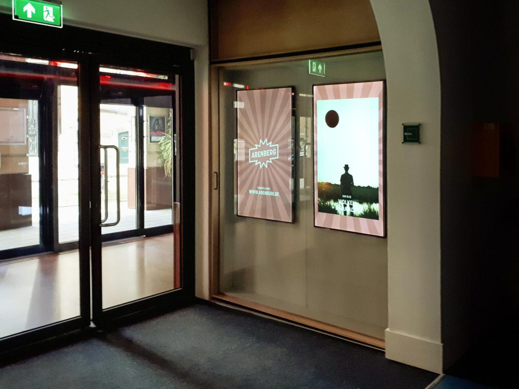 Arenberg Antwerpen LCD-displays