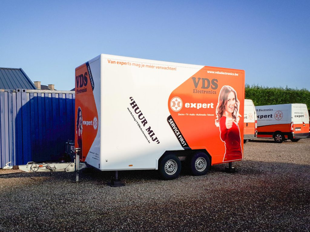 VDS Electronics Kinrooi LED-display trailer