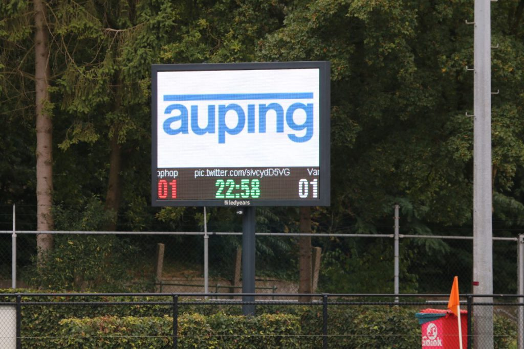 Full colour scorebord Amersfoortse Hockey Club