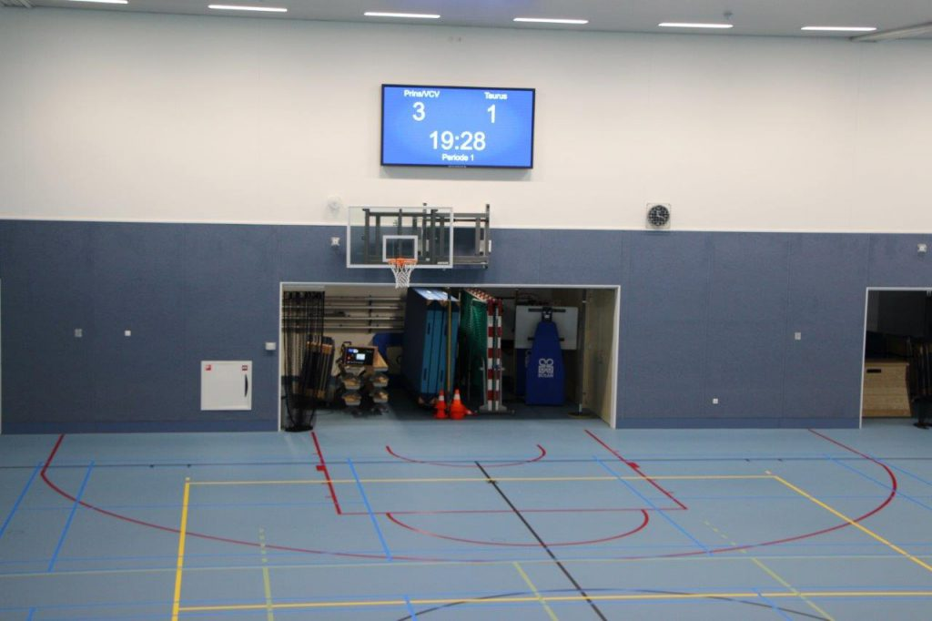 Sportservice Veenendaal Multifunctioneel Scorebord