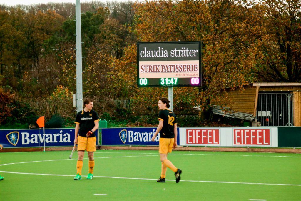 Full colour scorebord Nijmeegse Hockey Club