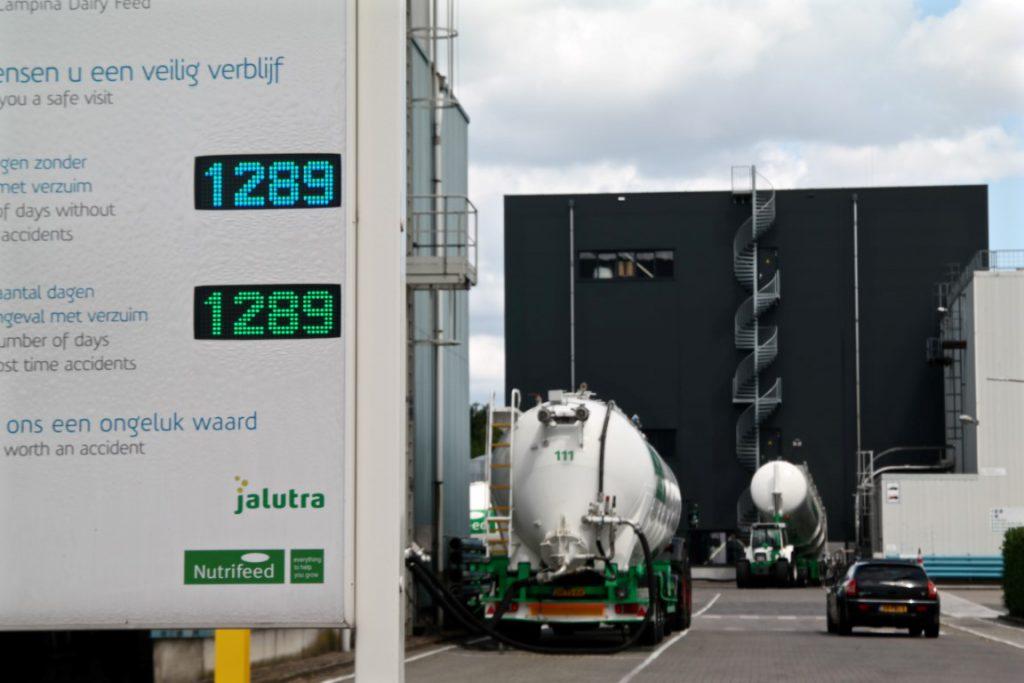 Veiligheidsdisplay Friesland Campina
