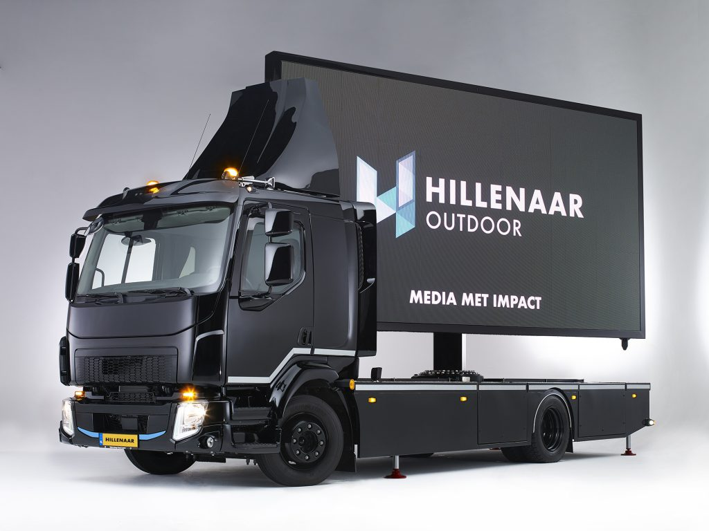 The Digital Truck mobiel LED-display