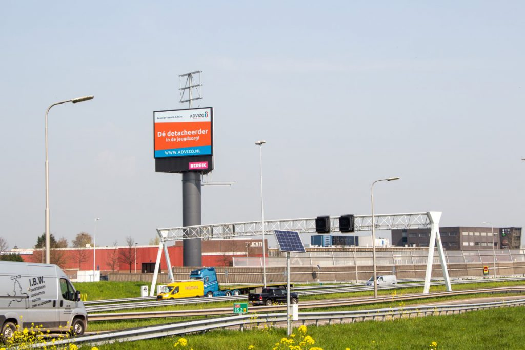 LED- Reclamemast LED-schermen A15