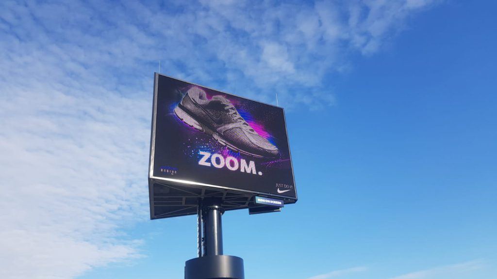 LED-Reclamemast, LED-schermen A18