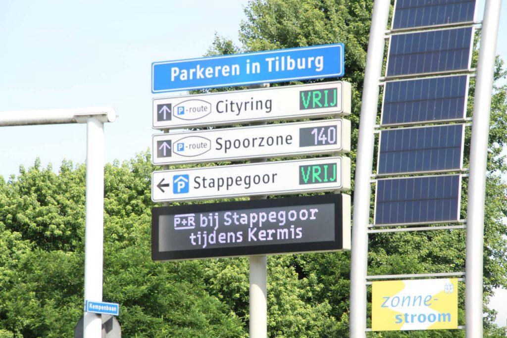 Parkeergeleiding Tilburg