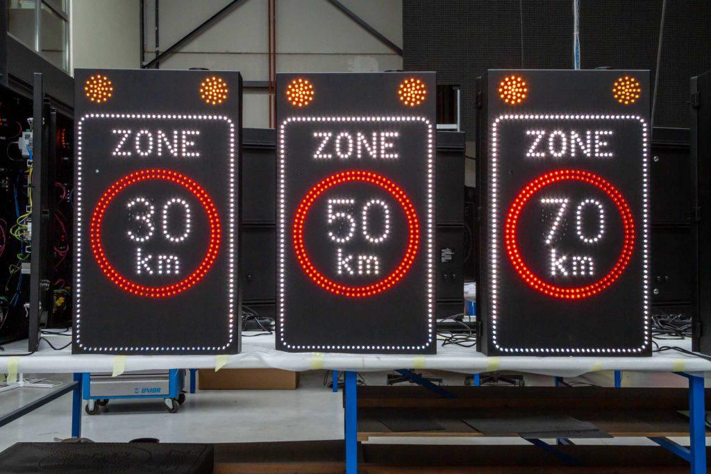Zone 30 50 70 LED-display