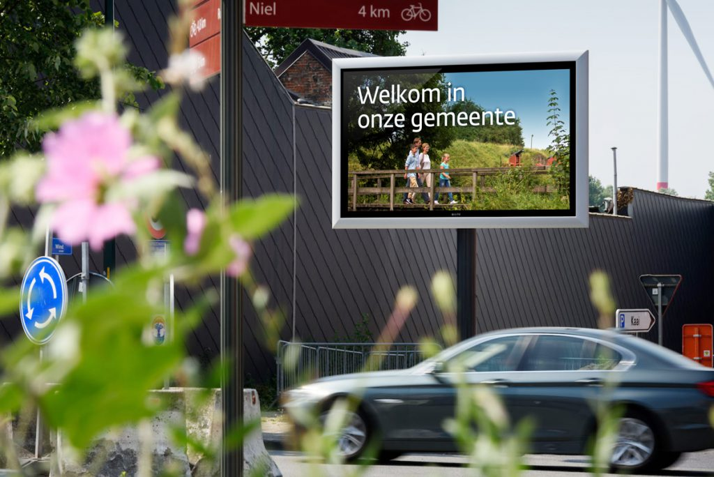 Gemeente Boom Q-LED TV LED-display