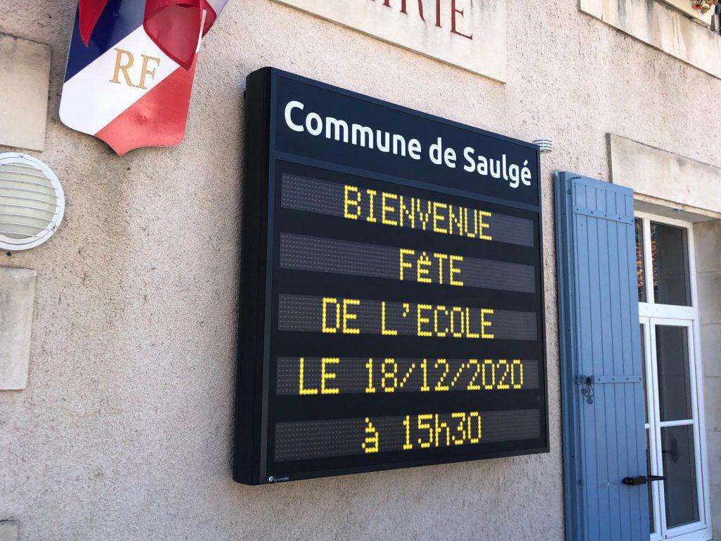 Signalétive - Commune de Saulgé QLMO