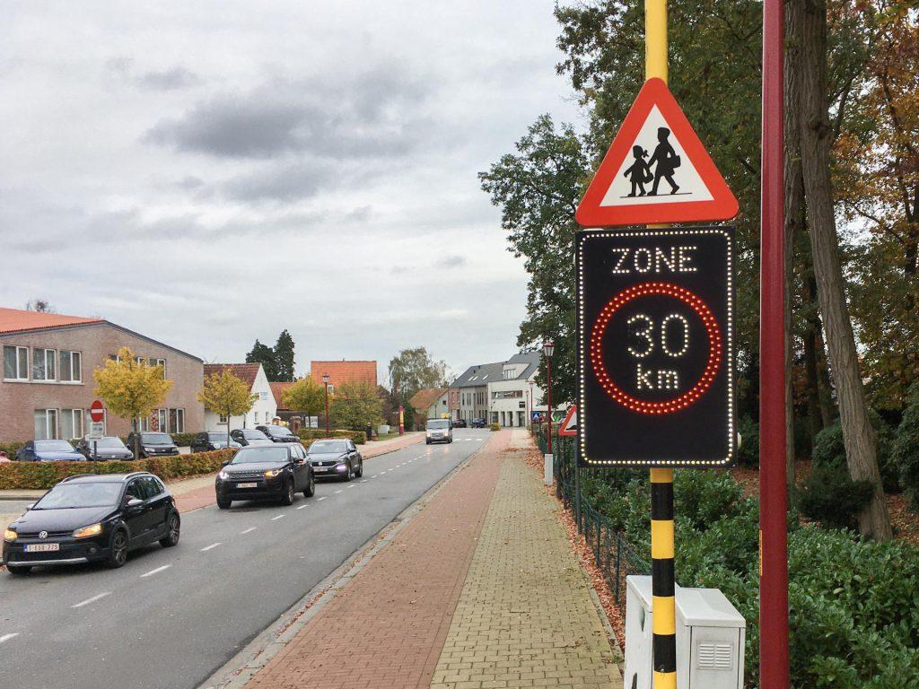 Zone-30 verkeersbord