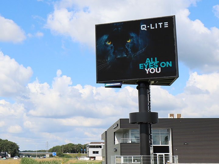 LED-scherm, LED-display, outdoor LED-scherm, LED-reclamemast