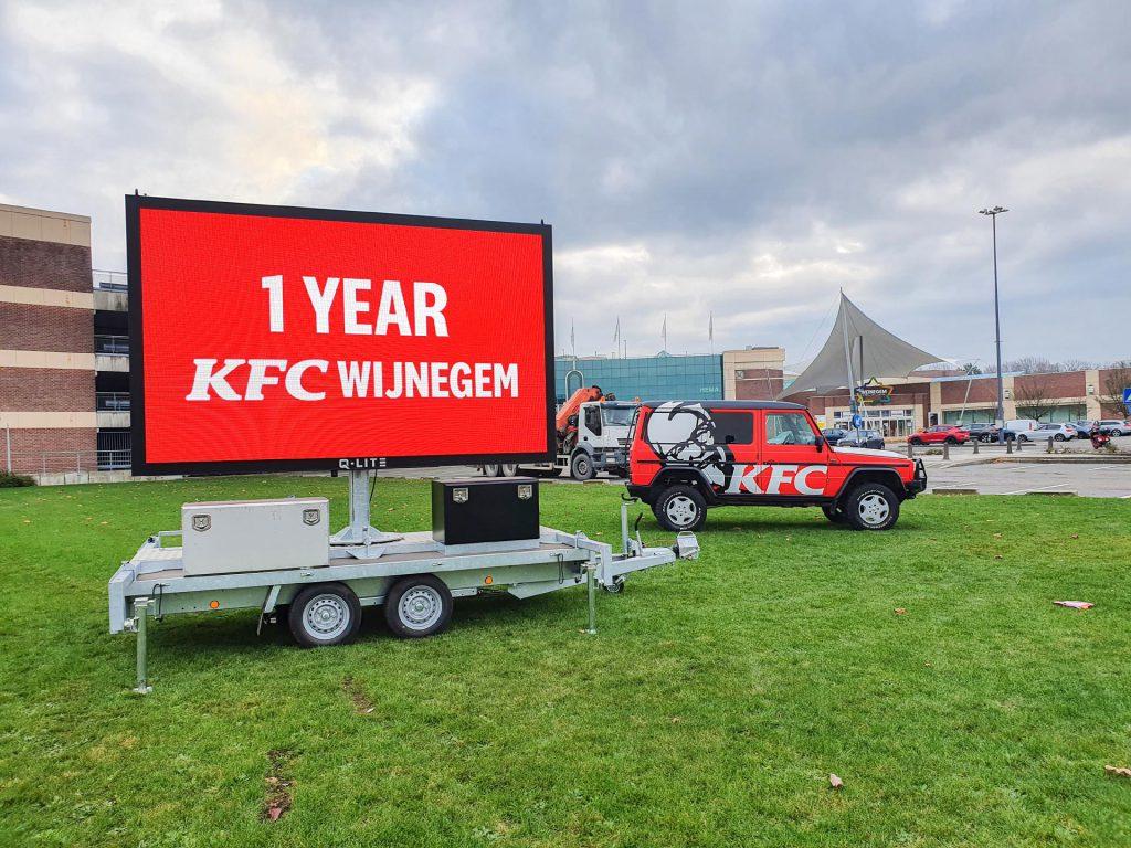 LED-aanhanger KFC Wijnegem