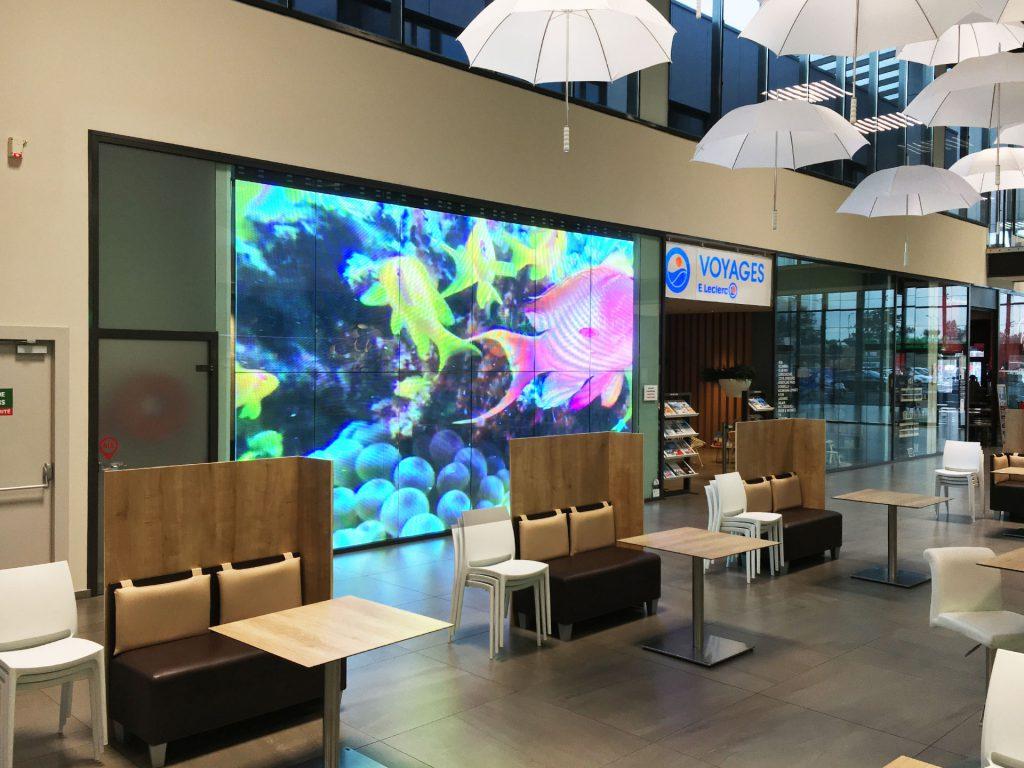 Indoor Transparent LED-display