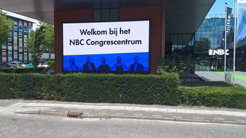 LED-scherm NBC Congrescentrum