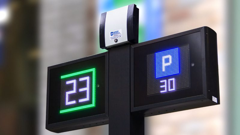 Kortparkeerdisplays LED displays