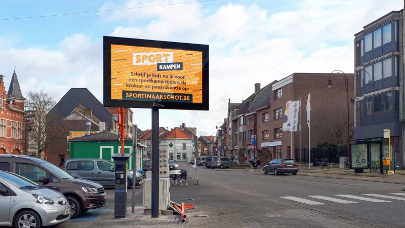 Outdoor LED-scherm QLEDTV LED-Display