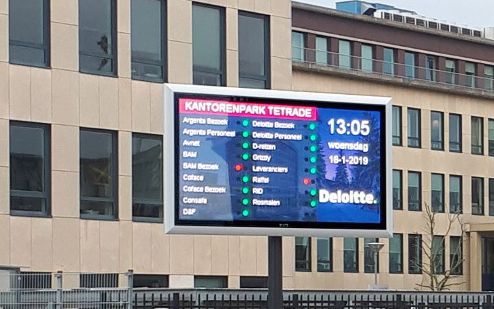 LED-scherm LED-display, Outdoor LED