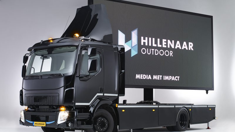 The Digital Truck mobiel LED-display affichage led